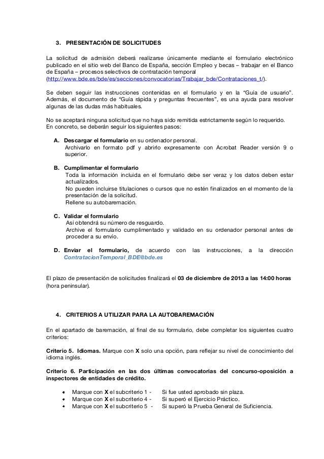 banco de españa tecnicos practicas_supervision nov13