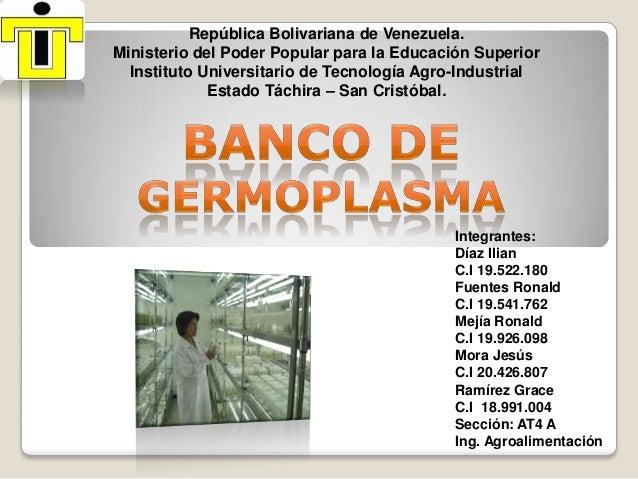 República Bolivariana de Venezuela. Ministerio del Poder Popular para la Educación Superior Instituto Universitario de Tec...