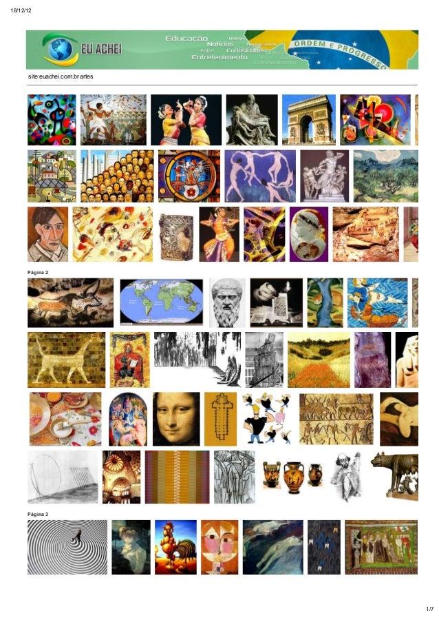 18/12/12      site:euachei.com.br artes      Página 2      Página 3                                  1/7