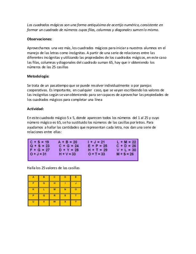 Banco de ejercicios de matematicas