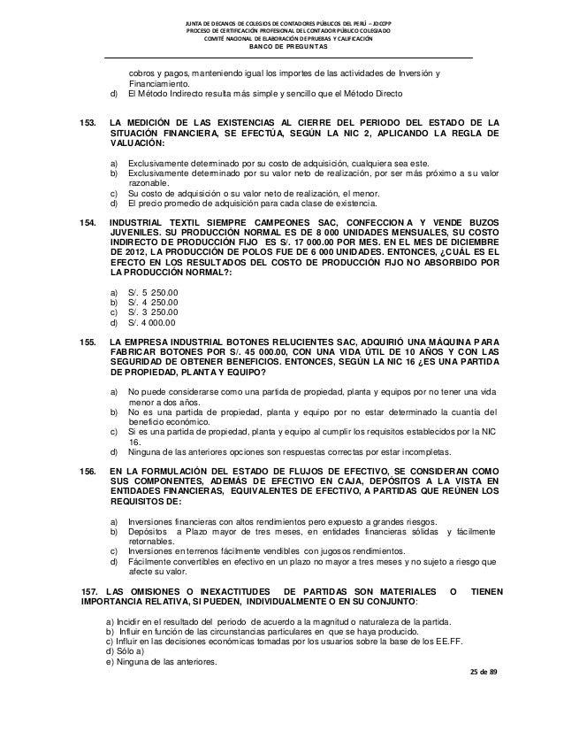 Banco De Preguntas Para Euc Mayo 2014