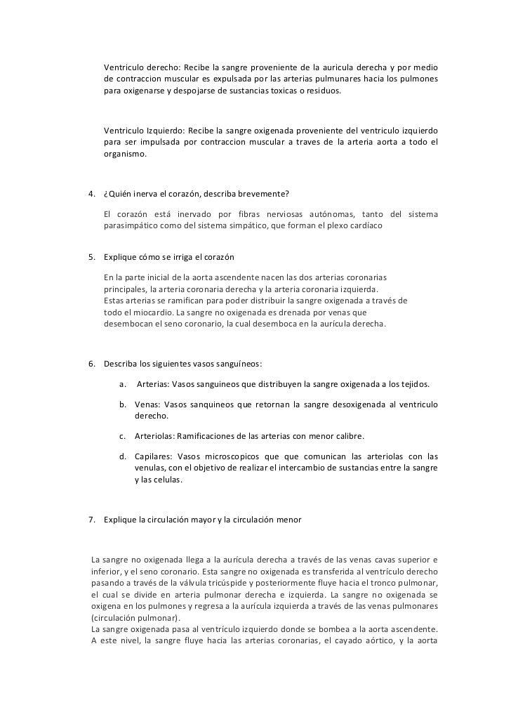 Banco de preguntas stma cardiovascular