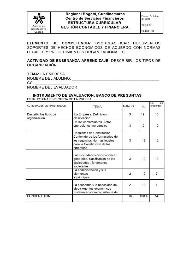Regional Bogotá, Cundinamarca                 Fecha: Octubre                            Centro de Servicios Financieros   ...