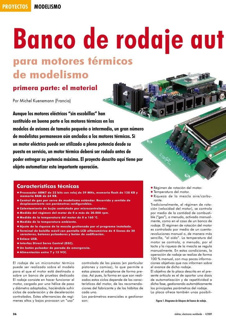 proyectos         modelismo        Banco de rodaje aut    para motores térmicos    de modelismo    primera parte: el mater...