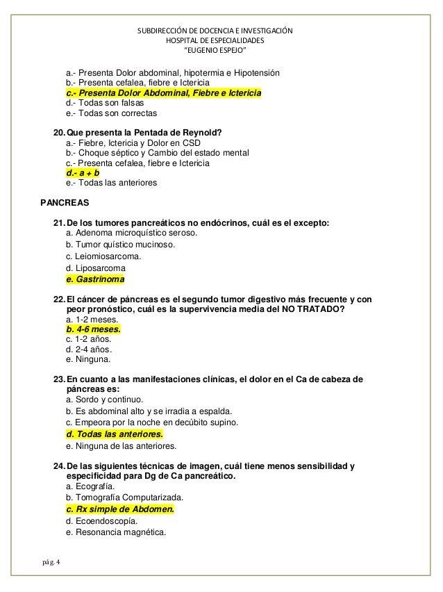 Banco preguntas espejo 2014