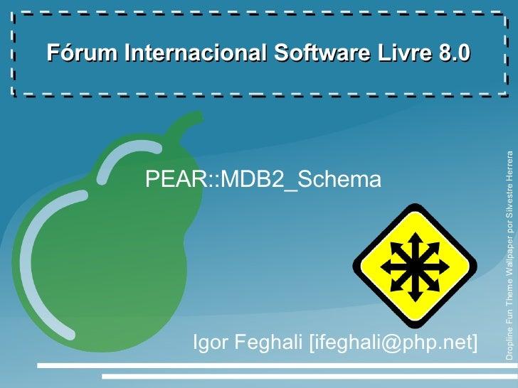Fórum Internacional Software Livre 8.0                                                    Dropline Fun Theme Wallpaper por...