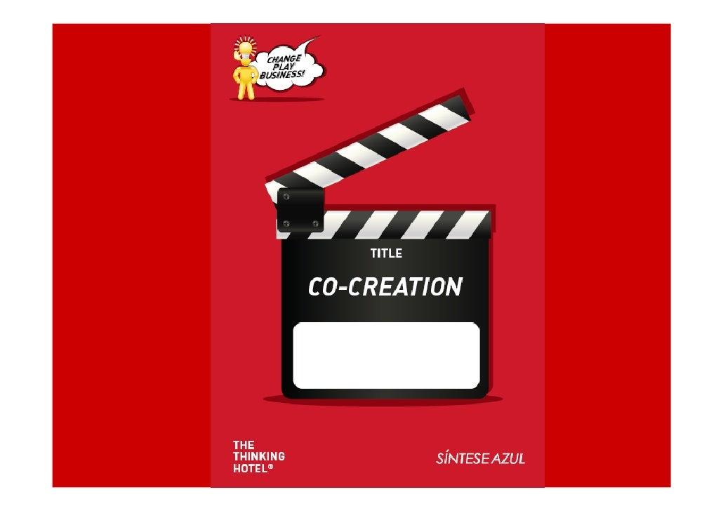 Co-Criação – uma analogia                                                              e                                  ...