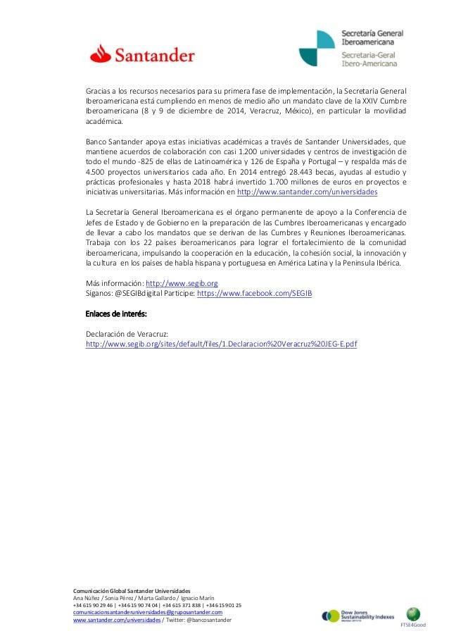 Gracias a los recursos necesarios para su primera fase de implementación, la Secretaría General Iberoamericana está cumpli...
