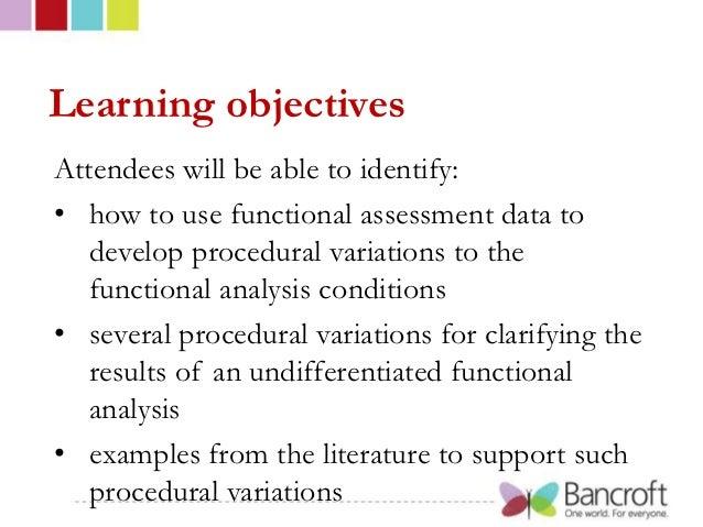 Bancroft   Assessment of Challenging Behavior: Beyond the Basic Functional Analysis at Autism NJ Slide 2