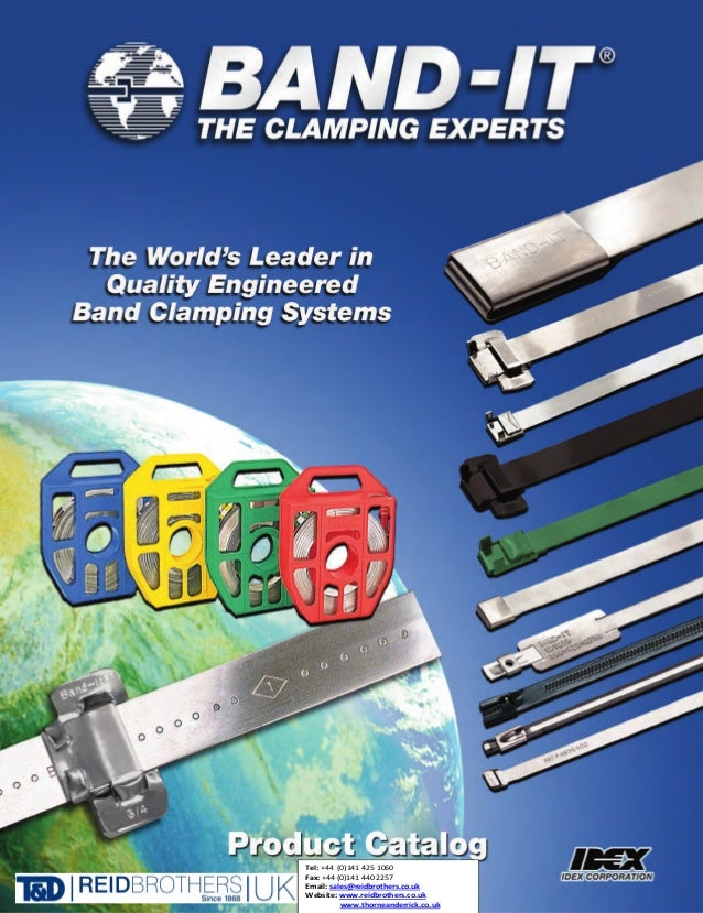250 Per Box Clamp 2-3//4 Diameter BAND-IT QS2109 Junior 3//4 Wide x 0.030 Thick 201 Stainless Steel Smooth I.D 2-3//4 Diameter