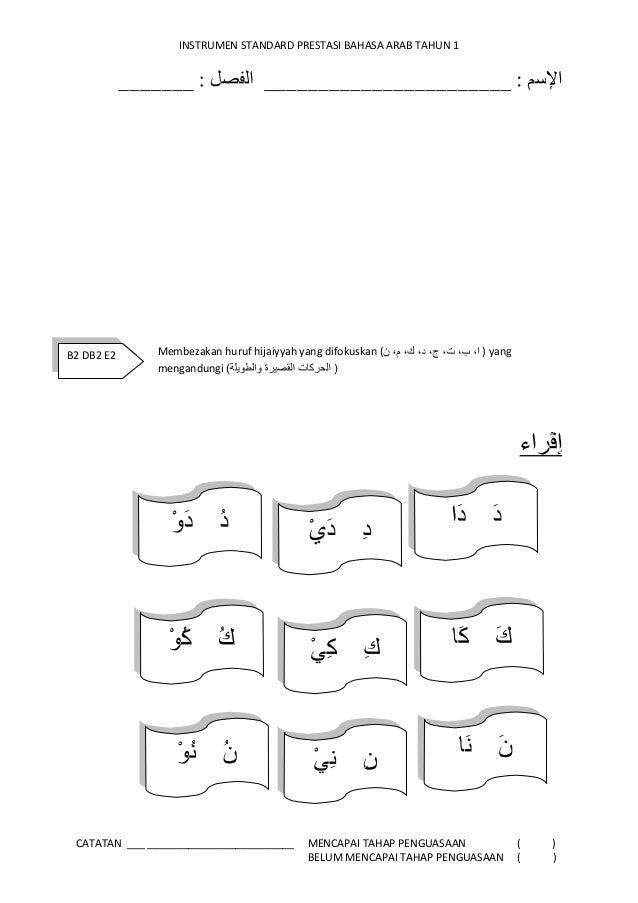 Soalan Latihan Bahasa Arab Tahun 2 Kuora O