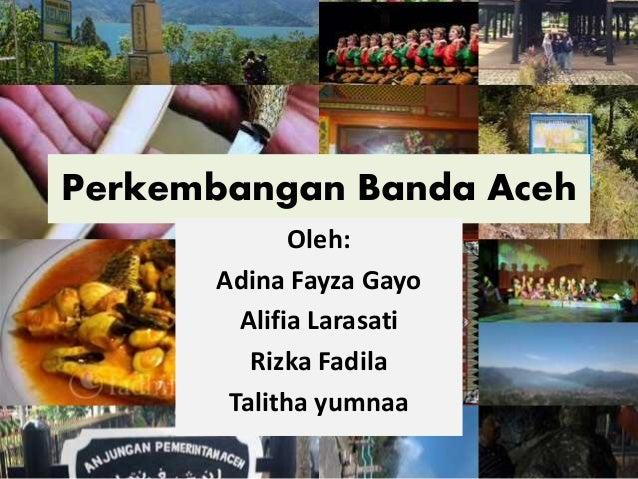 Perkembangan Kota Banda Aceh