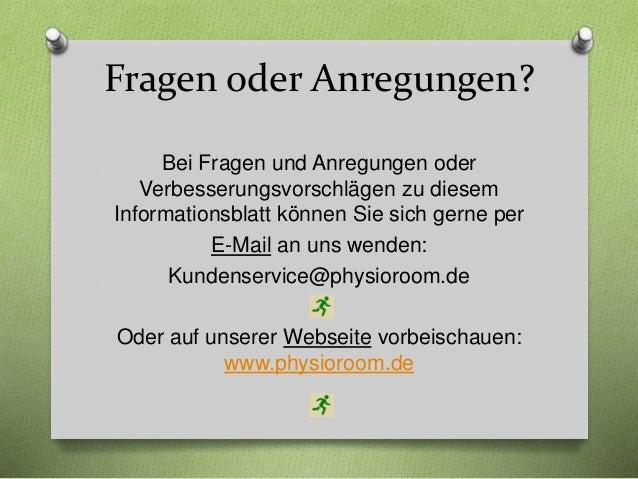Bandagen Ratgeber Ausgabe 1 Kniebandagen www.physioroom.de