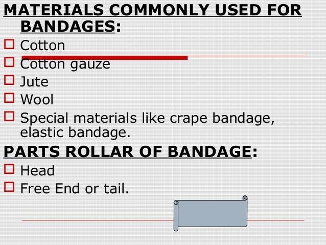 ppt on Bandaging Slide 3