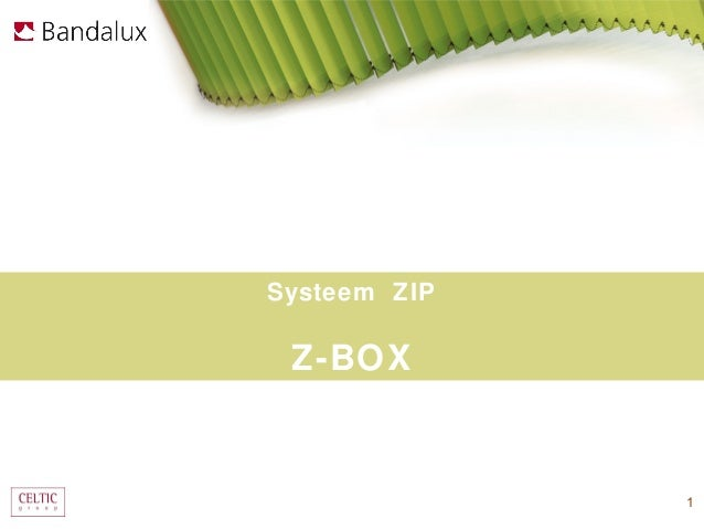 Systeem ZIP Z-BOX              1