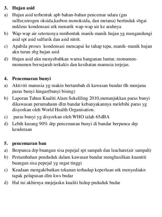 Contoh Folio Pencemaran Alam Sekitar Surat Cc