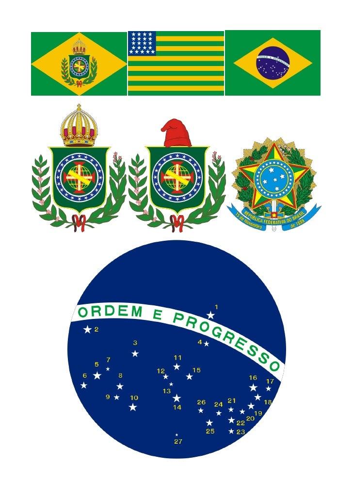 Bandeira e Brasao Nacional