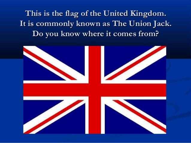 Bandera Del Reino Unido English