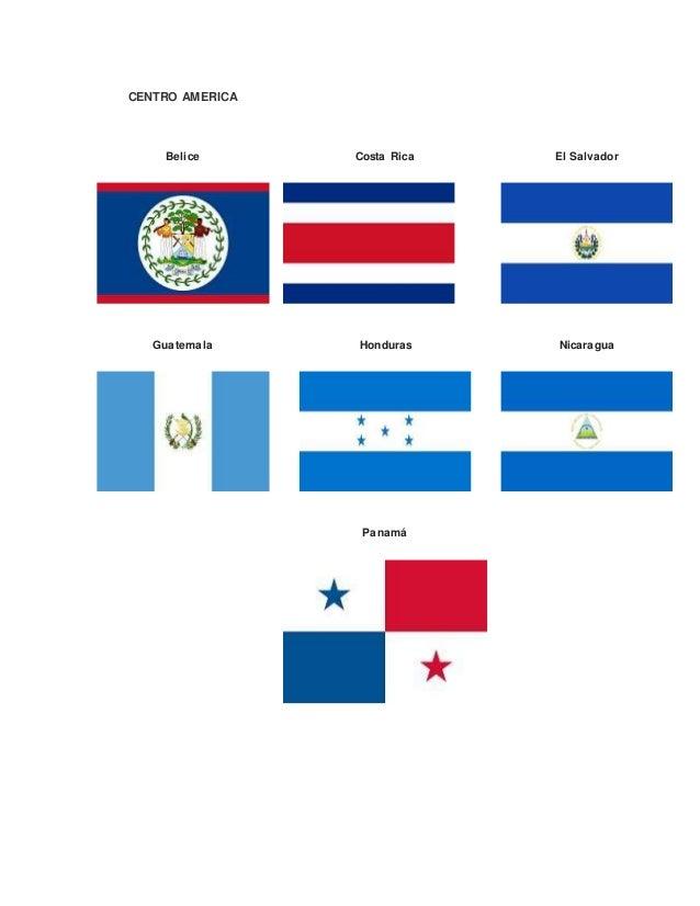 Banderas De America Central Sur Y Del Norte