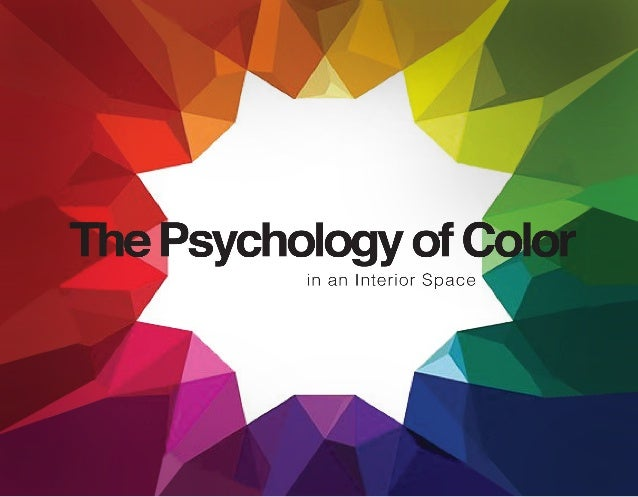 independent study the psychology of color in an interior decorating with complementary colors