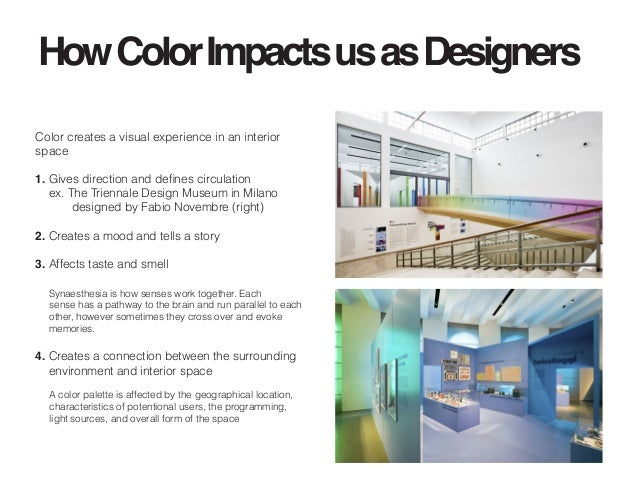 Independent study the psychology of color in an interior for Definition of form and space in architecture