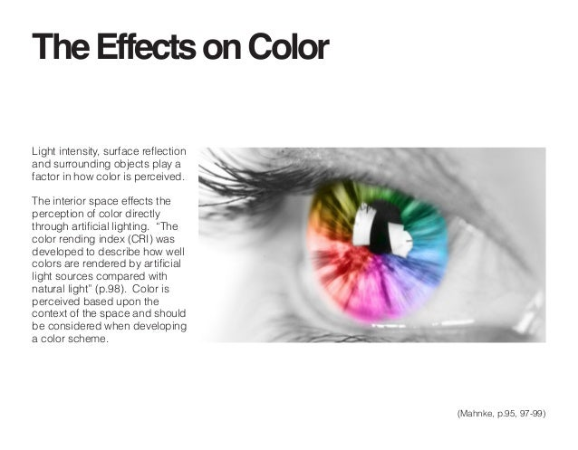 the effect of color on the