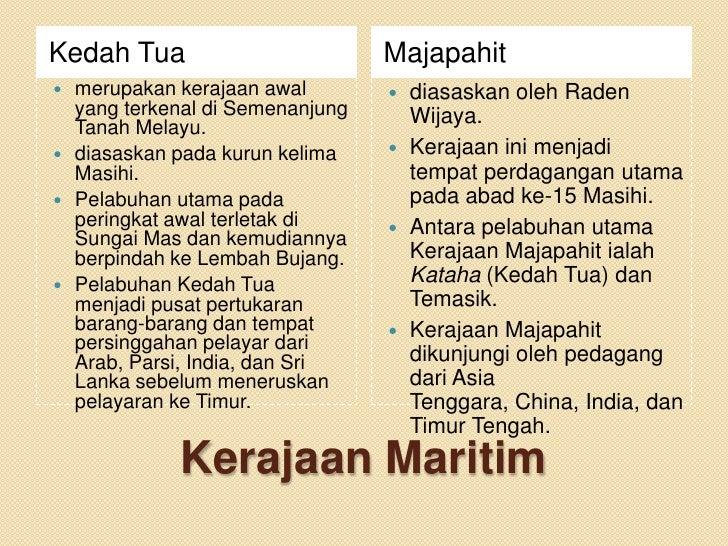 Kedah Tua                          Majapahit   merupakan kerajaan awal         diasaskan oleh Raden    yang terkenal di ...