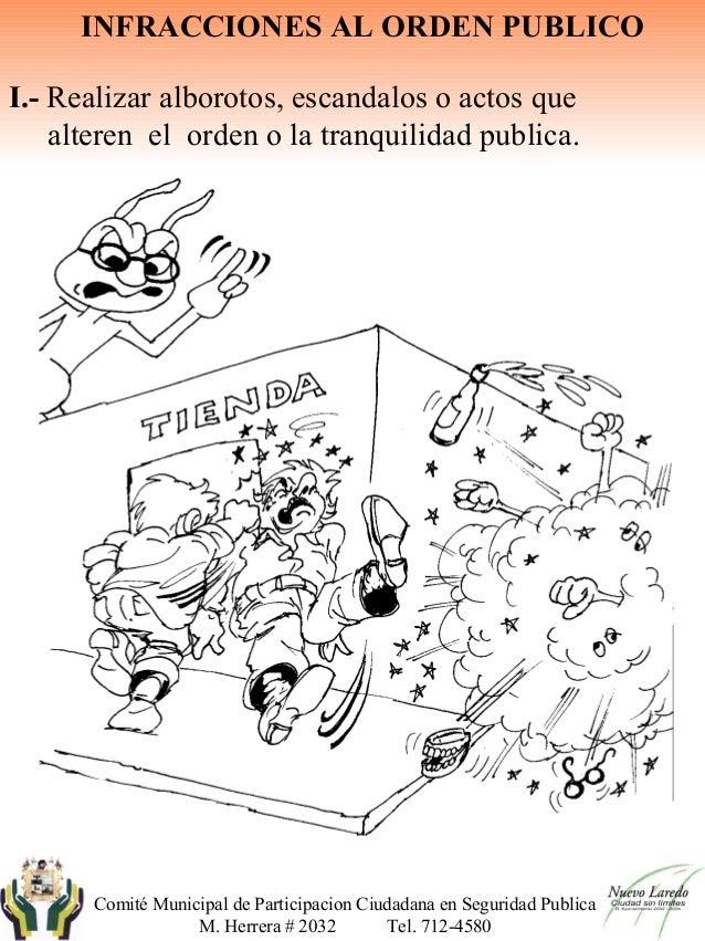 Bando de policia caricaturas, cuaderno para colorear