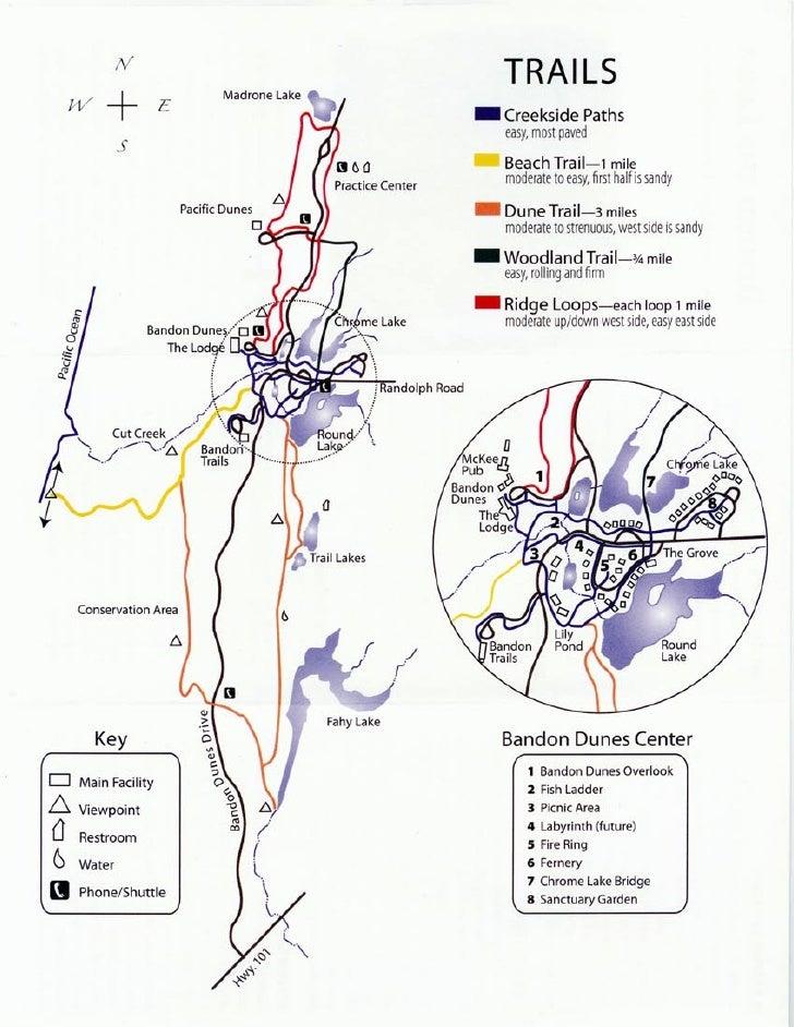 Bandon Dunes Oregon Map.Bandon Dunes Map