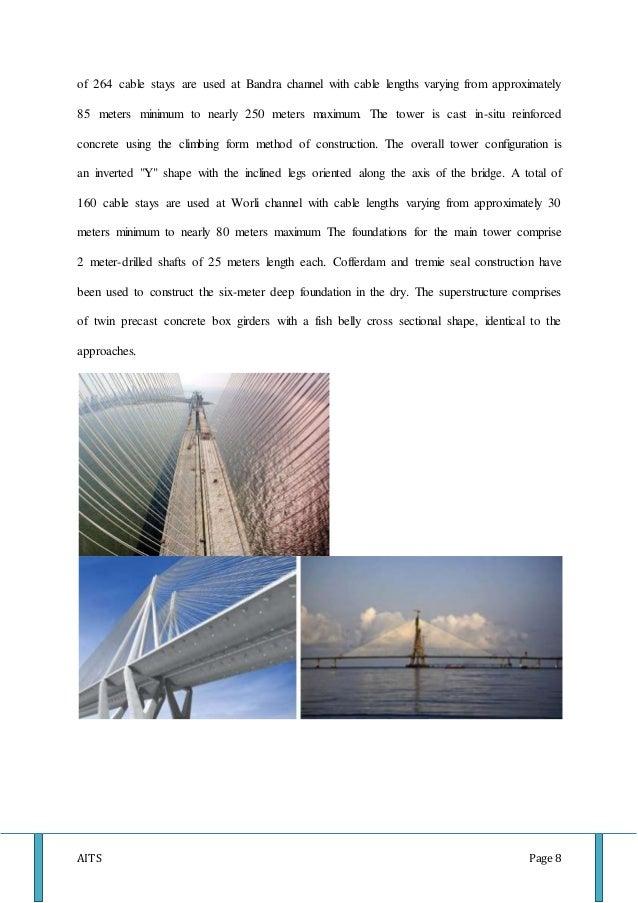 Bandra worli sealink pdf