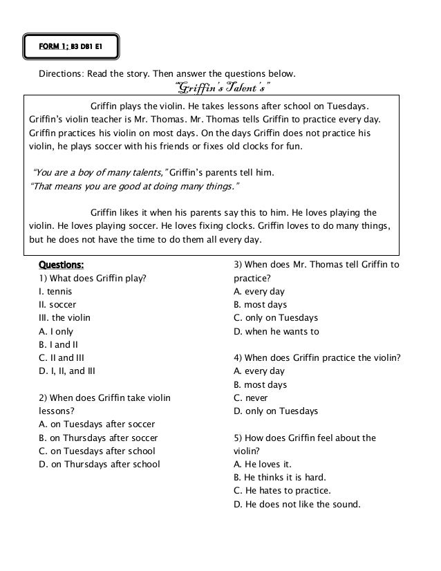 Form 1 English Suggested Pbs Materials