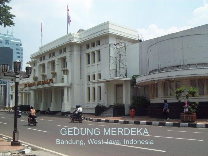 Bandung, West Java, Indonesia GEDUNG MERDEKA