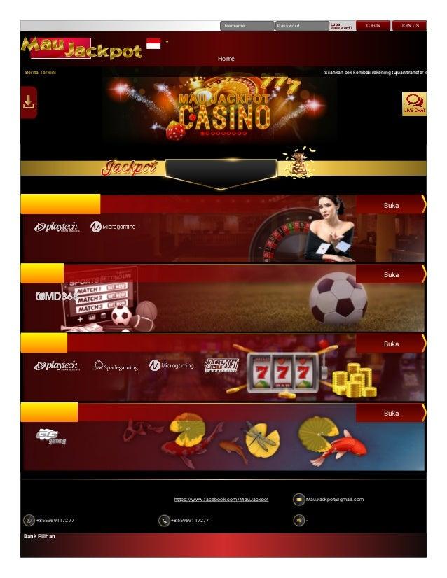 Maujackpot Situs Judi Slot Terbaik Casino Online Terbaru Bandar B