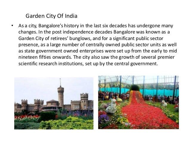 essay on bangalore garden city