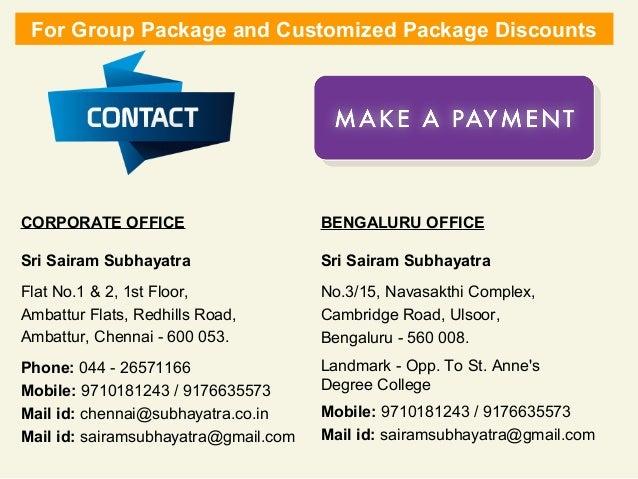 Bangalore Tour Bus Packages