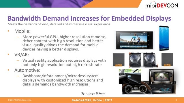 MIPI DevCon Bangalore 2017: Driving 4K High-Resolution Embedded Displ…