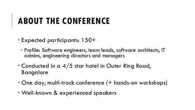Bangalore Container Conference - Sponsor Deck Slide 3