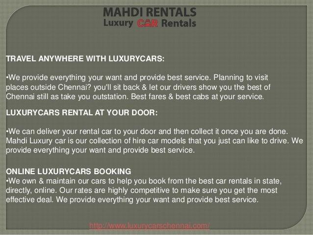 Bangalore Luxury Cars