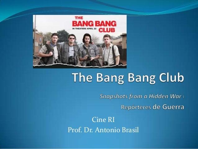 Cine RIProf. Dr. Antonio Brasil