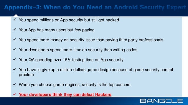 2015:The latest Android App Security Solution to protect your Android App