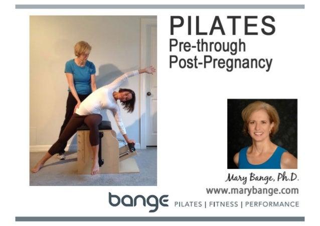 Prenatal and Postnatal Pilates Program