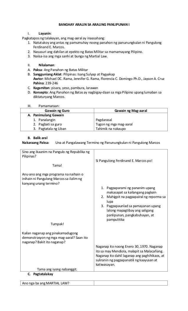 semi detailed lesson plan sa araling panlipunan 3 Learning plan in araling panlipunan iiipdf lesson plan sa araling panlipunan 3 free essays on sample of detailed lesson plan in araling panlipunan for students.