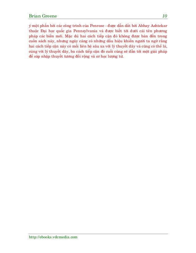 Brian Greene 10 http://ebooks.vdcmedia.com yá möåt phêìn búãi caác cöng trònh cuãa Penrose - àûúåc dêîn dùæt búãi Abhay As...