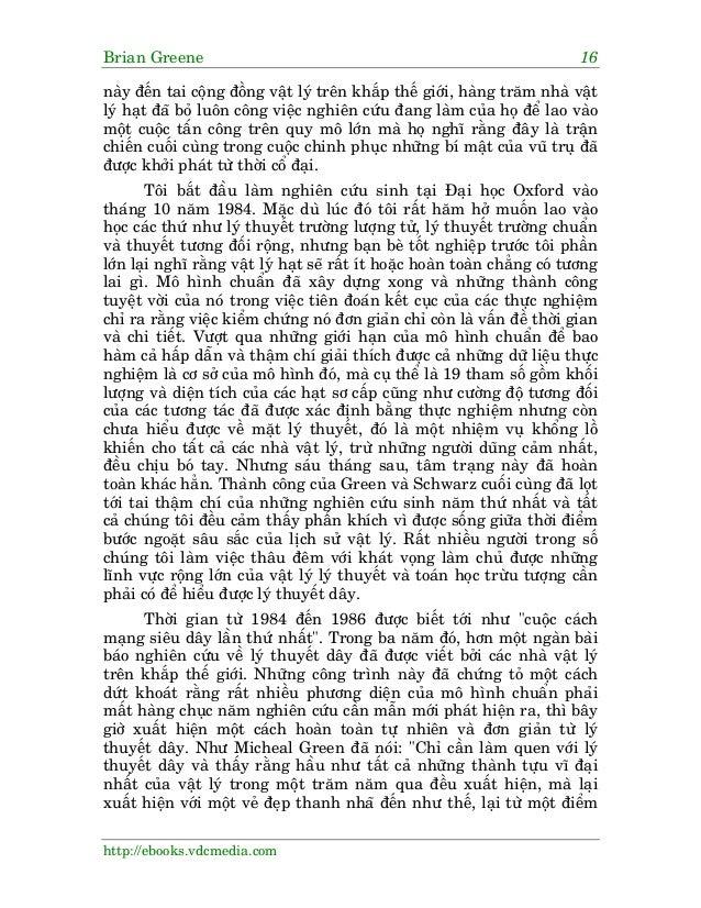 Brian Greene 16 http://ebooks.vdcmedia.com naây àïën tai cöång àöìng vêåt lyá trïn khùæp thïë giúái, haâng trùm nhaâ vêåt ...