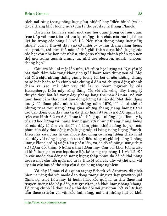 """Brian Greene 28 http://ebooks.vdcmedia.com caách noái rùçng thang nùng lûúång """"tûå nhiïn"""" hay """"àiïín hònh"""" (vaâ do àoá caã..."""