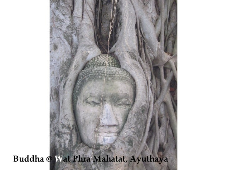 Buddha @  W at Phra Mahatat, Ayuthaya