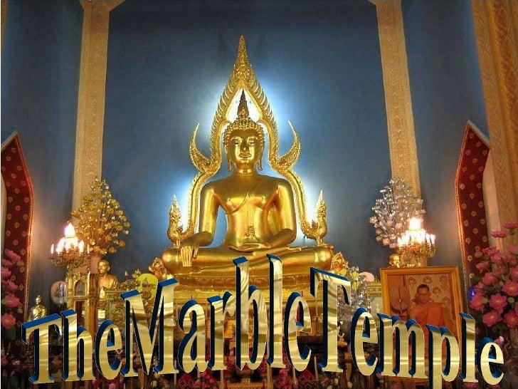 Templul de Marmură Wat Benjamabophit TheMarbleTemple