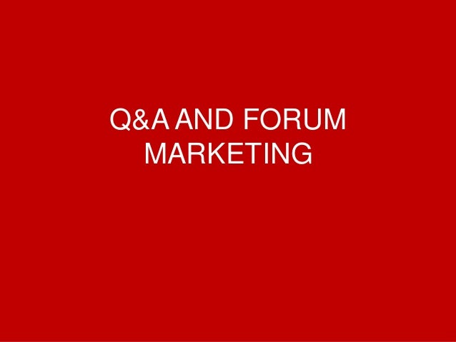 @Growthhackasia (Growth Hacking Asia) Q&A AND FORUM MARKETING