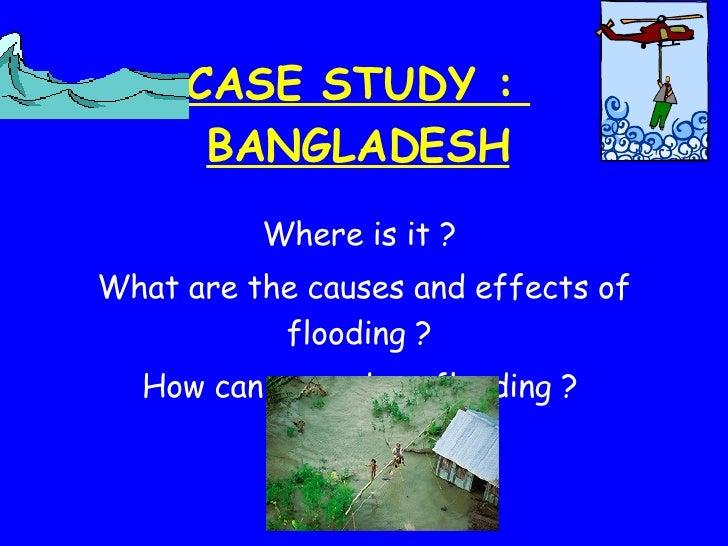Tudor Geog: Case study - Bangladesh flooding 2004
