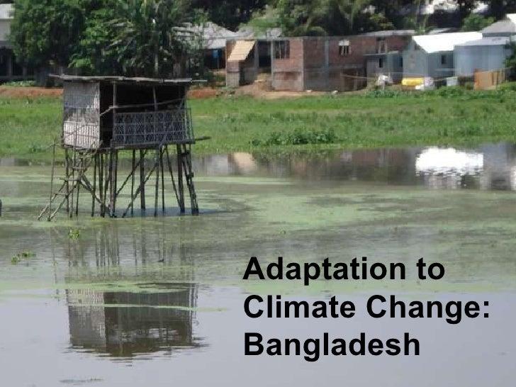Bangladesh Adaptation Climate Change